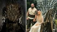 Saking Cintanya, Pria Ini Hadiahi Istri Kursi Tahta 'Game of Thrones'