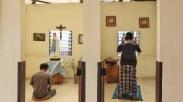 Gubernur Jateng, Ganjar Pranowo Puji Ruang Doa Berdempetan Dua Agama Ini