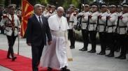 Kunjungi Makedonia, Paus Fransiskus Kagumi Keragaman Agama di Negara Tersebut