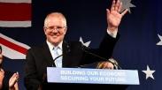 Menang Pemilu Australia, Scott Morrison Sebut Kemenangannya Adalah Mujizat