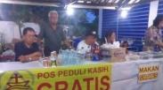 Saling Dukung, Gereja Semarang Bangun Posko Mudik 'Peduli Kasih' Ini