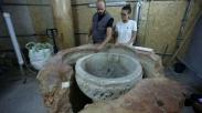Tempayan Baptisan Kuno Ditemukan di Gereja Kelahiran Yesus, Begini Bentuknya…