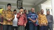 Ketemu Wakil Presiden, Pendeta-pendeta Papua Ini Minta Ma'ruf Amin Satukan Umat Beragama