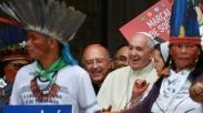 Kunjungi Amazon, Pidato Paus Fransiskus Soal Masyarakat Adat Justru Mengundang Kritik