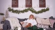 Uniknya Dekorasi Natal Tori Kelly, Bikin Natal Lebih Sukacita