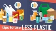 Indonesia Ikut Galakkan Less Plastic, Ini 9 Tips Hidup Tanpa Butuh Plastik