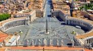 Pertama Dalam Sejarah Basilika St Petrus Vatikan Kosong Saat Paskah, Yang Ada Hanya Paus