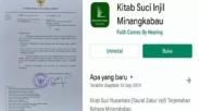 Soal Aplikasi Alkitab Bahasa Minang, Menkominfo Tak Akan Cabut Karena Alasan Ini…