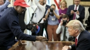 Dulu Didukung, Kini Kanye West Pasang Badan Lawan Donald Trump Jadi Calon Presiden