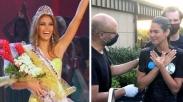 Ungkapan Haru Saat Mantan Miss Universe Ini Dibaptis, 'Aku Mendapat Jawaban Dalam Yesus'