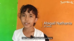 Kisah Yohanes Pembaptis Mengubah Aku Mau Melayani, Abigail Nathania