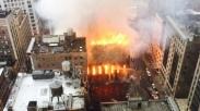 Gereja Ortodoks Bersejarah Di New York Dilahap Api