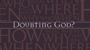 Meragukan Tuhan