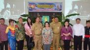 Megawati Berkunjung Ke Gereja Sion Sebelum Ikut Festival Tomohon