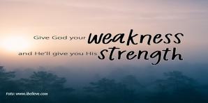 Tuhan Berikan Kekuatan yang Baru