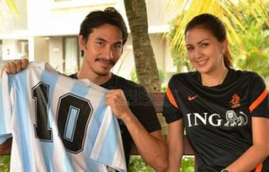 Gara-Gara Piala Dunia Darius dan Donna Saling Ejek