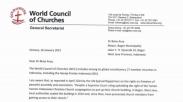 Wali Kota Bogor Terima Surat Dewan Gereja Dunia