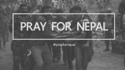 Dunia Bersatu Serukan #PrayForNepal