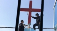 Protes Larangan Salib, Tiongkok Tahan 7 Pengelola Gereja