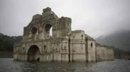 Kemarau Panjang, Gereja Kuno Muncul dari Dasar Waduk