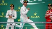 Lewis Hamilton 'Amankan' Gelar Juara Dunia F1 2015