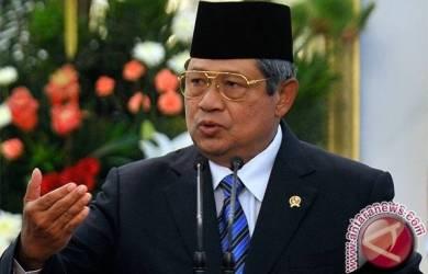 Presiden SBY Bersyukur Natal dan Tahun Baru Aman