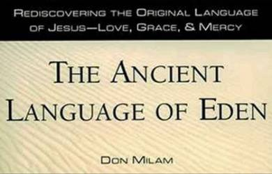 The Ancient Language of Eden