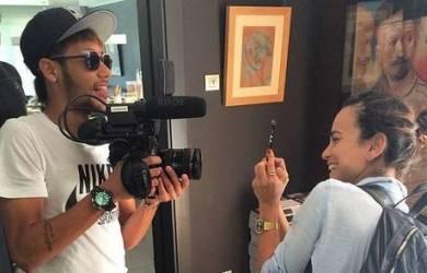 Neymar Belajar Dunia Film, Ingin Satukan Sepakbola dan Media