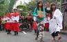 Minggu Palma di Merapi, Prosesi Penyambutan Yesus Raja Damai
