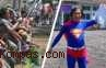 Kampanye Unik, Dari Mancing Hingga Berkostum Superman