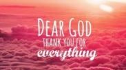 Mengucap Syukur Atas Setiap Tantangan Kehidupan