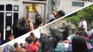 Gereja  HKBP Karang Bahagia Di Segel, Jemaat Teguh Untuk Terus Beribadah Walau Diluar