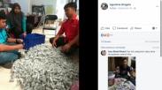 Jangan Remehkan Recehan, 5 Tahun Keluarga Ini Tabung Uang Koin Hingga Puluhan Juta Rupiah