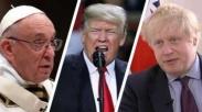 Paus Fransiskus, Trump dan Menlu Inggris Mengutuk Serangan Bom Kimia di Suriah