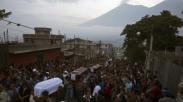 Mengharukan, Pendeta Ini Tewas Sambil Peluk Jemaat Saat Erupsi Gunung Fuego di Guatemala