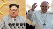 Kejutan Dari Korea Utara, Kim Jong Un Undang Paus Fransiskus Berkunjung Ke Pyongyang