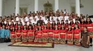 Bertemu Pemenang Pesparani, Hal Ini Menurut Jokowi Wajib Dipelajari Dari Paduan Suara