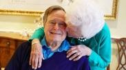 Mengenang George H.W. Bush, Saat Dia Menemukan Cinta Sejatinya, Barbara di Hari Natal