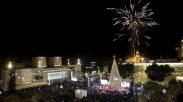 Perayaan Natal di Betlehem Mulai 1 Desember Ditandai Penyalaan Lampu Pohon Natal Raksasa