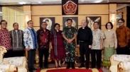 Bertemu Panglima TNI, PGI Apresiasi Pengamanan Pemilu Hingga Beri Masukan Tentang Papua