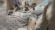 Nyaris Mati Karena Covid-19, Doa & Dorongan Semangat Staf Rumah Sakit Bantu Pria Ini Pulih