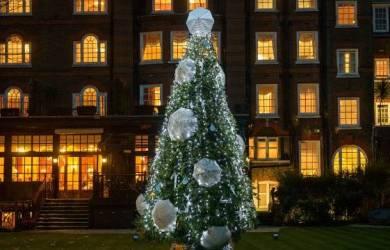 Pohon Natal Payung Goring