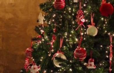 Walau Dari Bahan Tak Biasa,Pohon Natal di Gereja-gereja ini Jadi Keliatan Keren Banget Lho