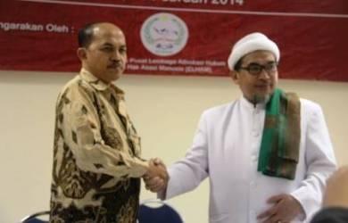 Posma Rajaguguk dan Al Habib Muhsin Ahmad Alattas Lc
