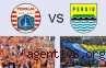 Persija dan Persib Bertemu, Jakmania Dilarang ke Bandung